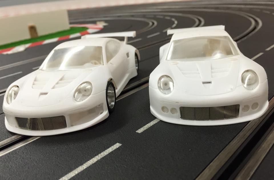 Scaleauto: les premières photos de la Porsche 911 GT3 1/32