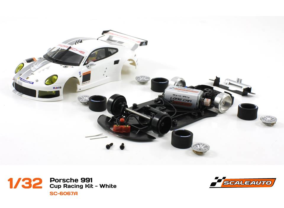 SC-6067A Porsche 991 GT3 Cup Racing AW - Blanc