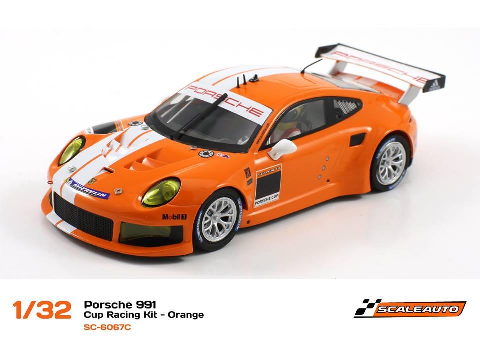 SC-6067C Porsche 991 GT3 Cup Racing AW - Orange