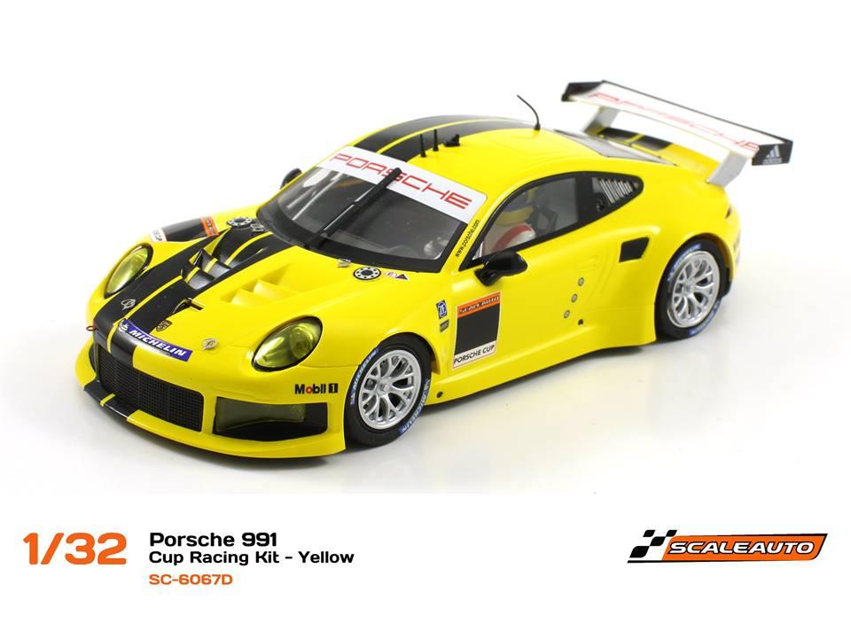 SC-6067D Porsche 991 GT3 Cup Racing AW - Jaune