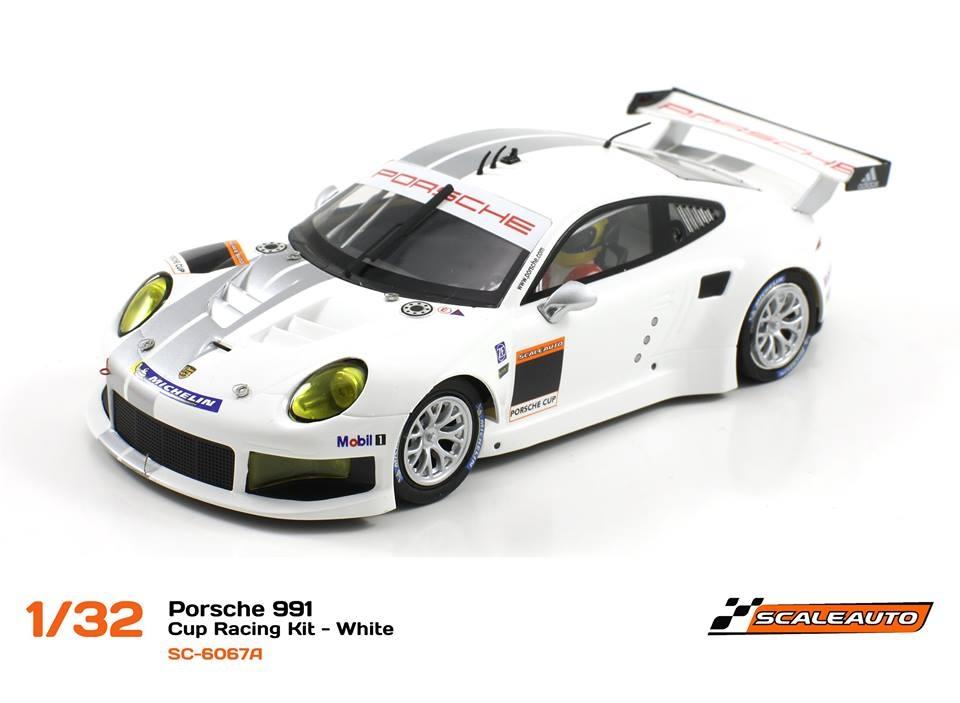 SC-6067A Porsche 991 GT3 Cup Racing AW - Blanc 1