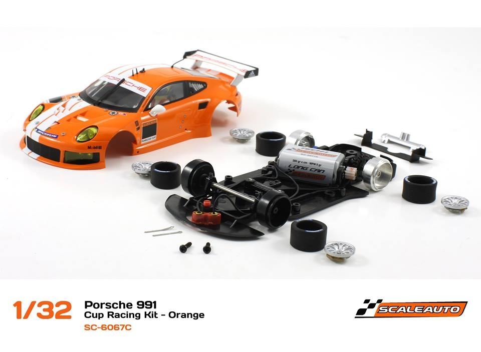 SC-6067C Porsche 991 GT3 Cup Racing AW - Orange 1