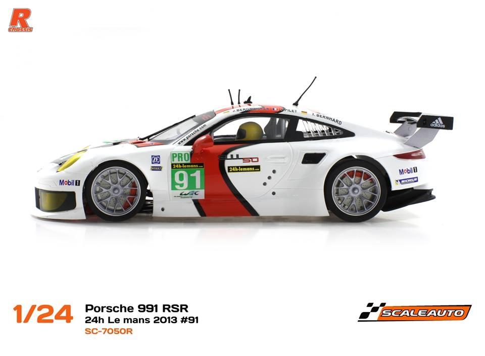 Scaleauto: Porsche 991 RSR 24H du Mans 2013 1/24