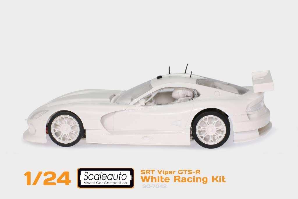 Scaleauto le kit blanc de la RT Viper GTS-R - SC-7042