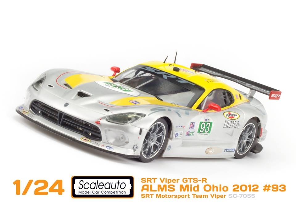Scaleauto SRT Viper GTS-R SC-7055 and SC-7056