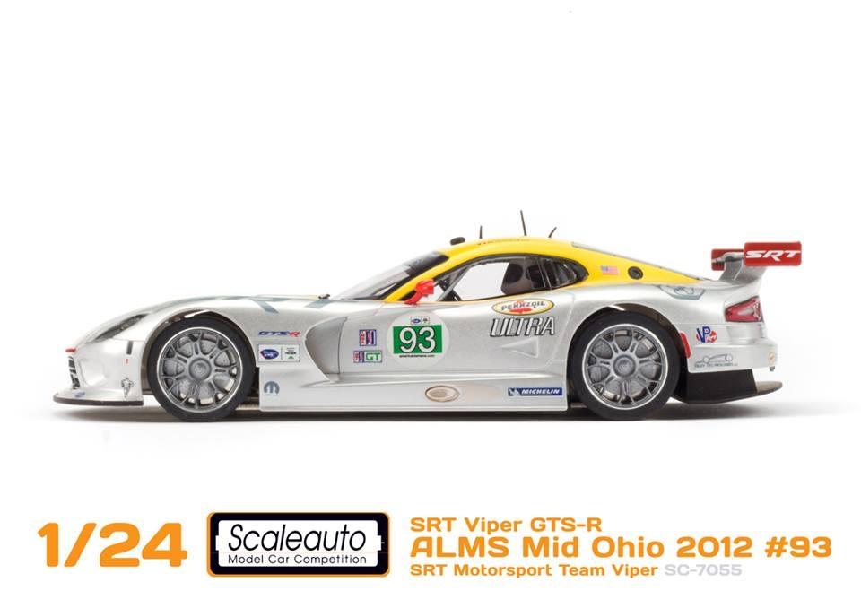 Scaleauto SRT Viper GTS-R SC-7055 and SC-7056