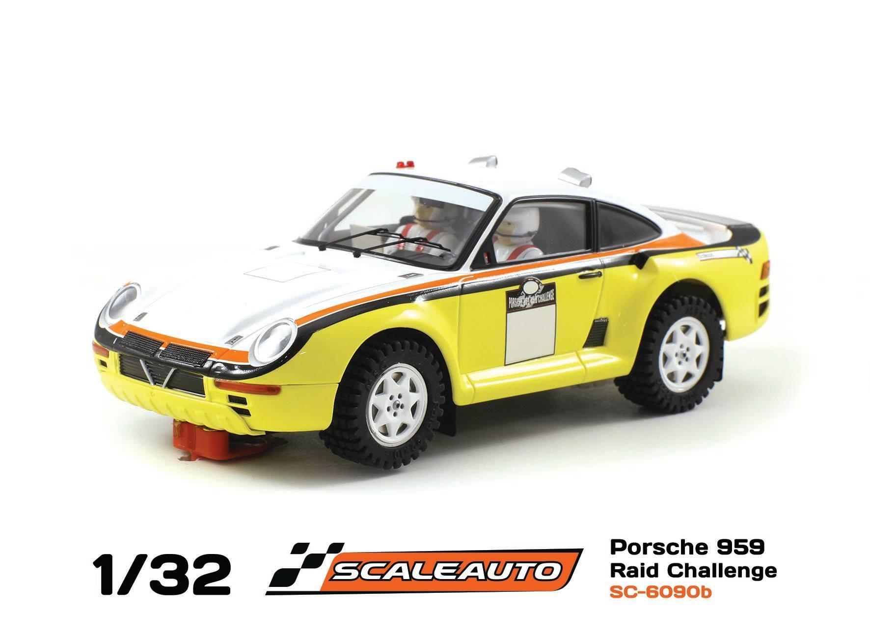 Porsche 959 SC-6090B Raid Défi Amarillo