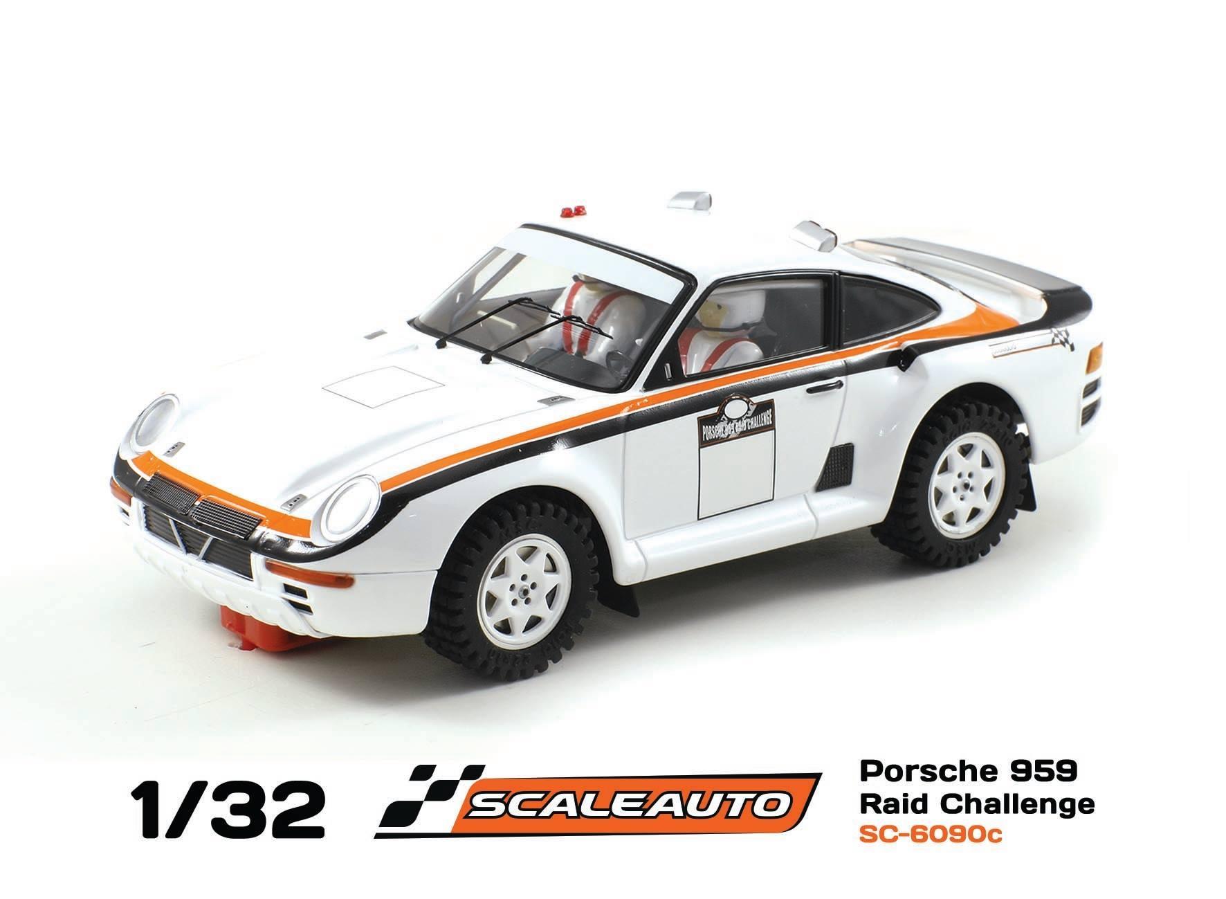 Porsche 959 SC-6090C Challenge Raid Blanc.