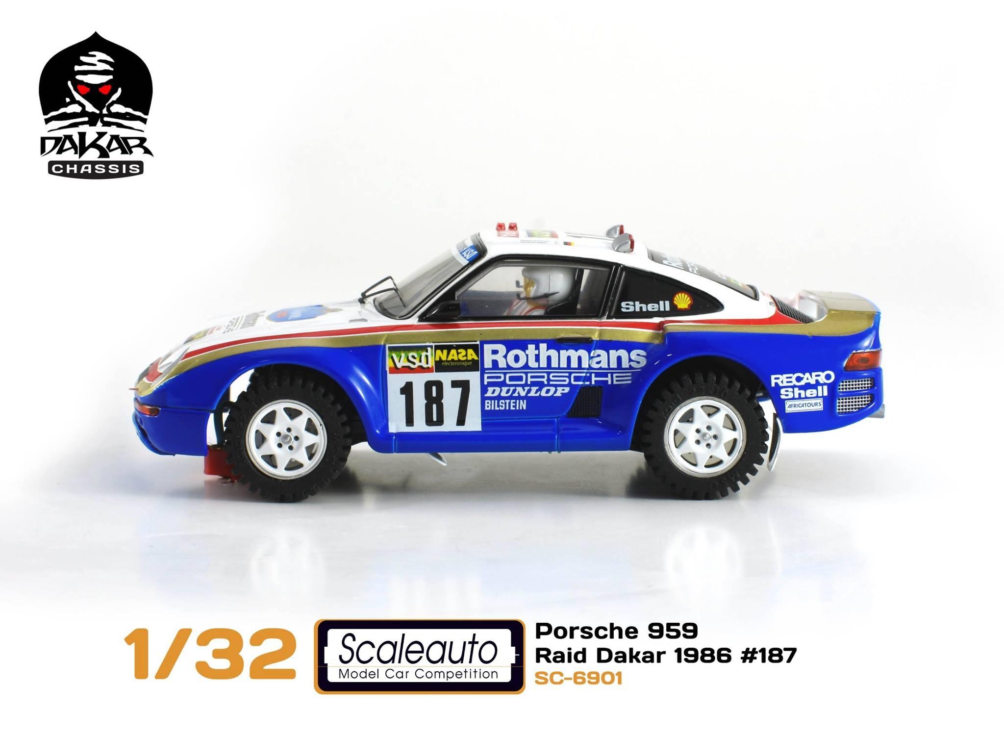 Porsche 959 SC-6091C Paris-Dakar 1986