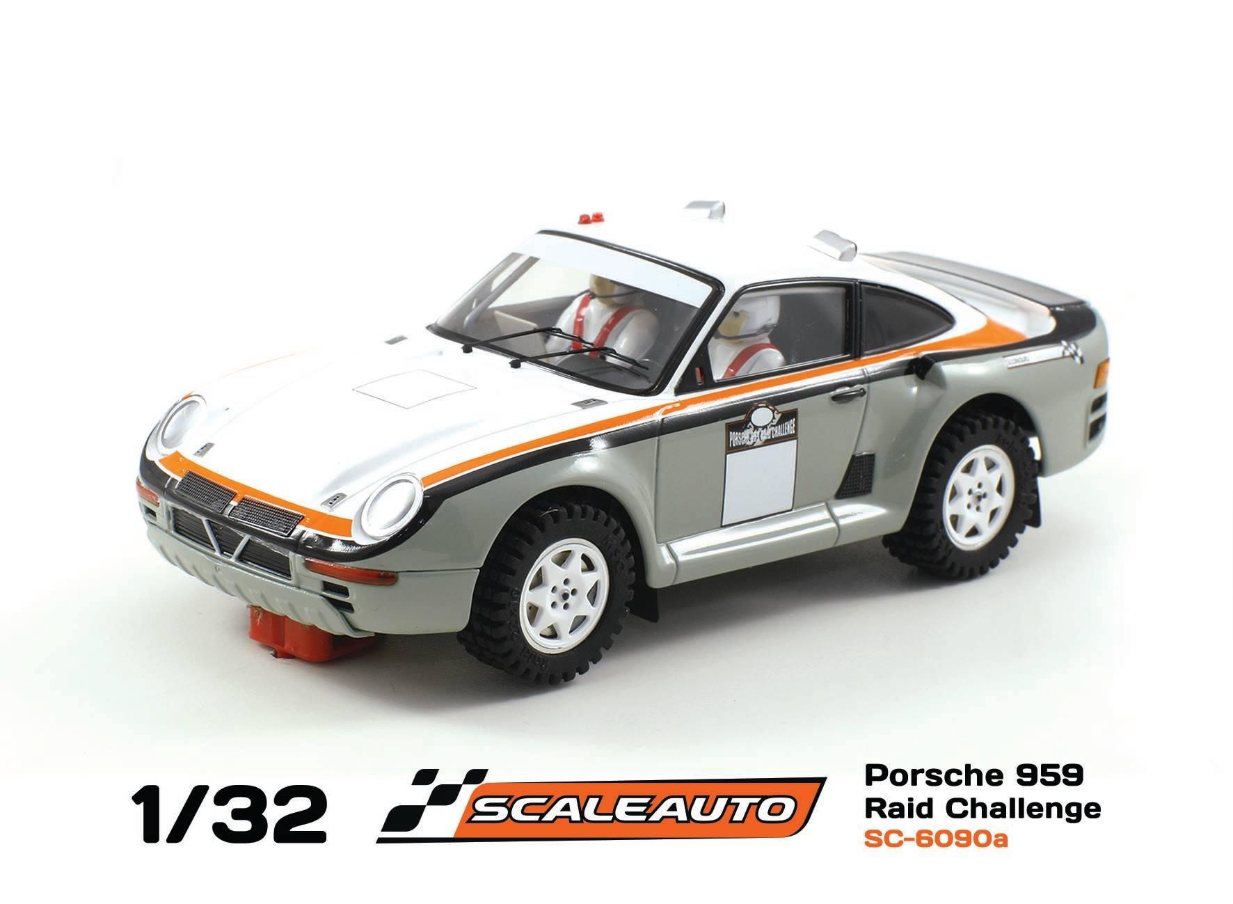 Porsche 959 SC-6090A Gris Challenge Raid