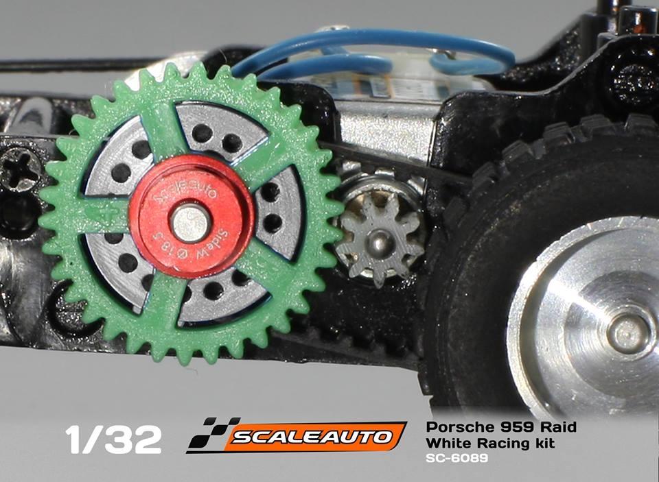 Scaleauto kit Porsche 959 Rallye Raid SC-6089