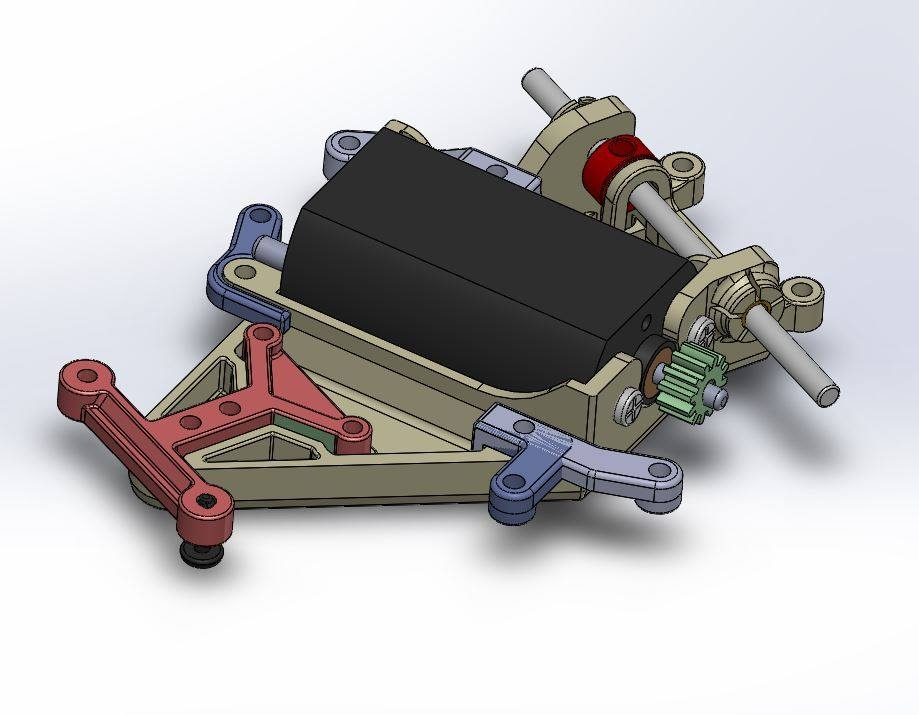 Scaleauto: Un nouveau support moteur pour ses Slot Cars