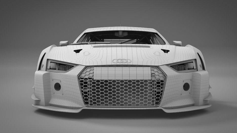 Scaleauto: Une Audi R8 LMS en 2018 pour le slot racing