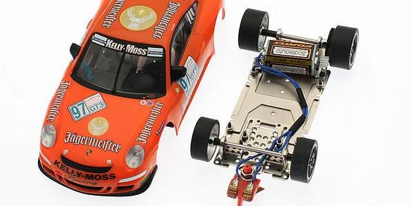 Slot-it Porsche 911 GT1 EVo 98 et son chassis