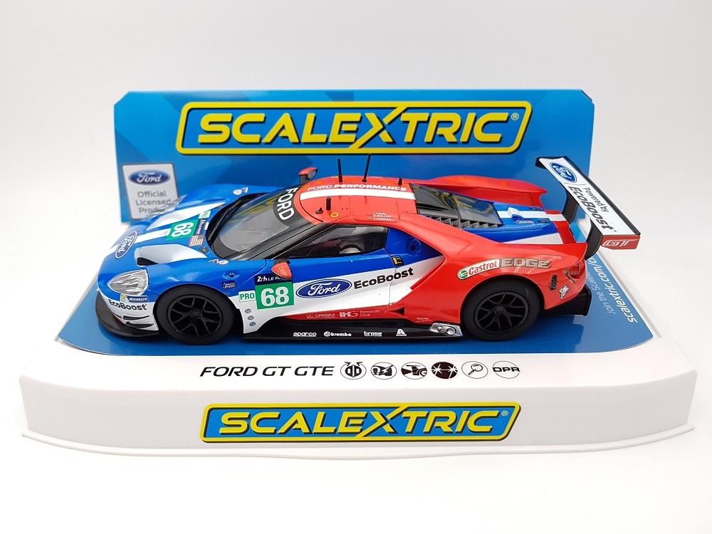 Scalextric: la Ford GT GTE Le Mans 2017 No.68