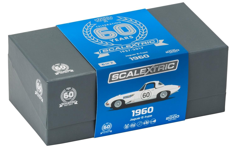 Scalextric: La Jaguar Type E entre dans la collection 60e anniversaire
