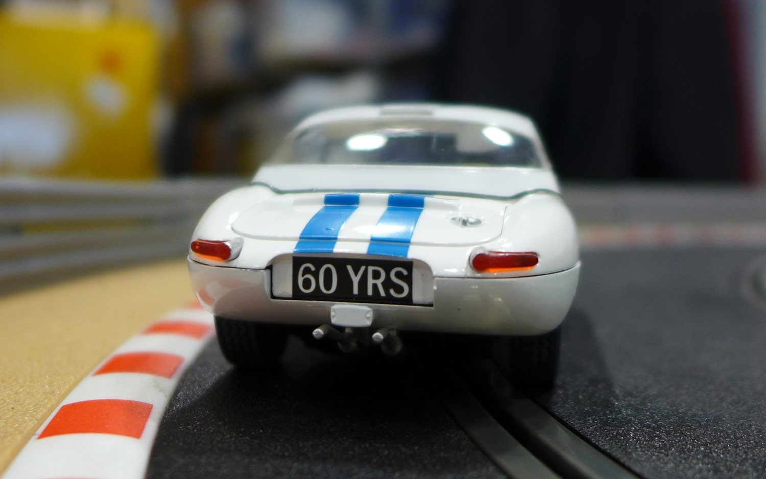 Scalextric: La Jaguar Type E entre dans la collection 60e anniversaire