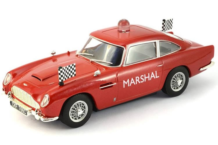 Scalextric: l'Aston Martin DB5 GT Marshall's