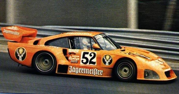 Porsche 935K4 Sideways