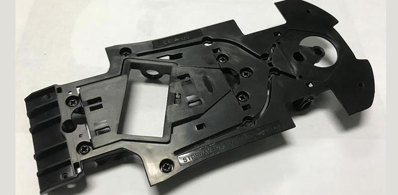 Sideways: Chassis de la Lamborghini Huracan GT3 1/32