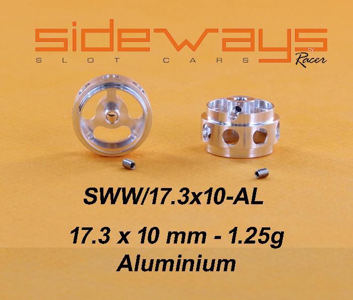Aluminium 17.3x10