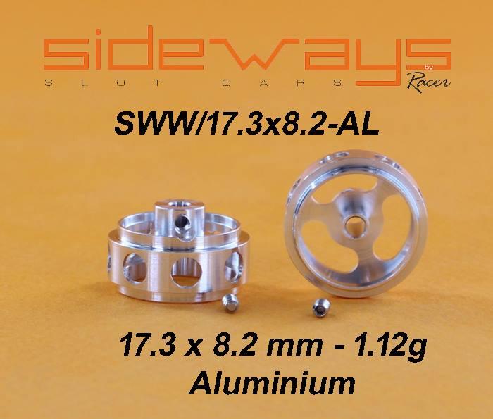 Aluminium 17.3x8.2