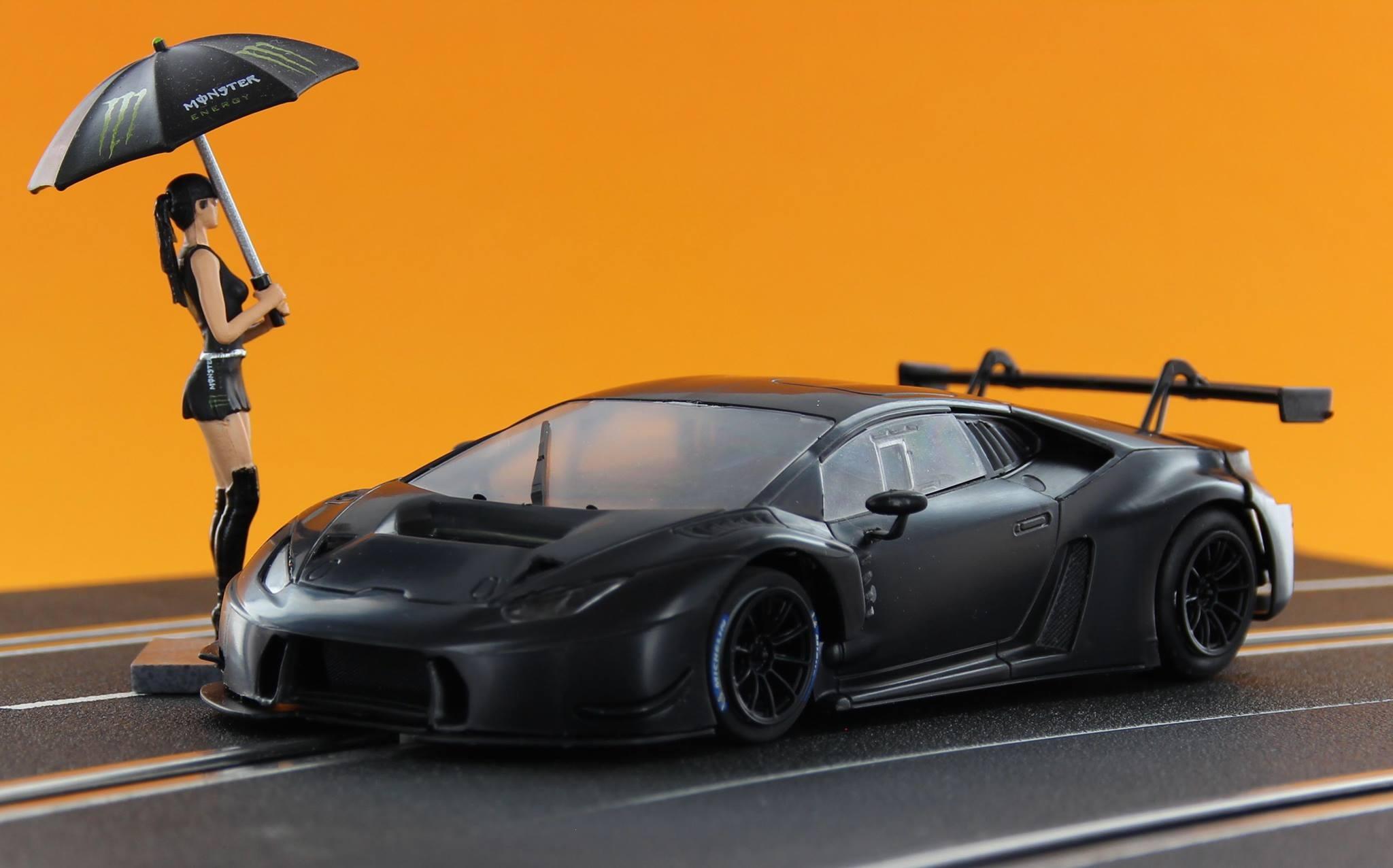 Sideways: La Lamborghini GT3 Huracan
