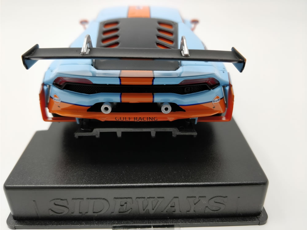 SWCAR01C LB H GT3 SPECIAL EDITION GULF RACING avec ECUSSON PATCH THERMOCOLLANT