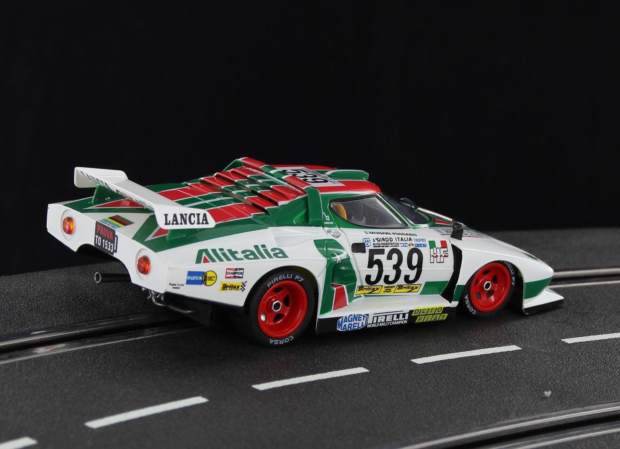 Sideways: la Stratos Gr5 Alitalia Giro Italia 1977 - SW57