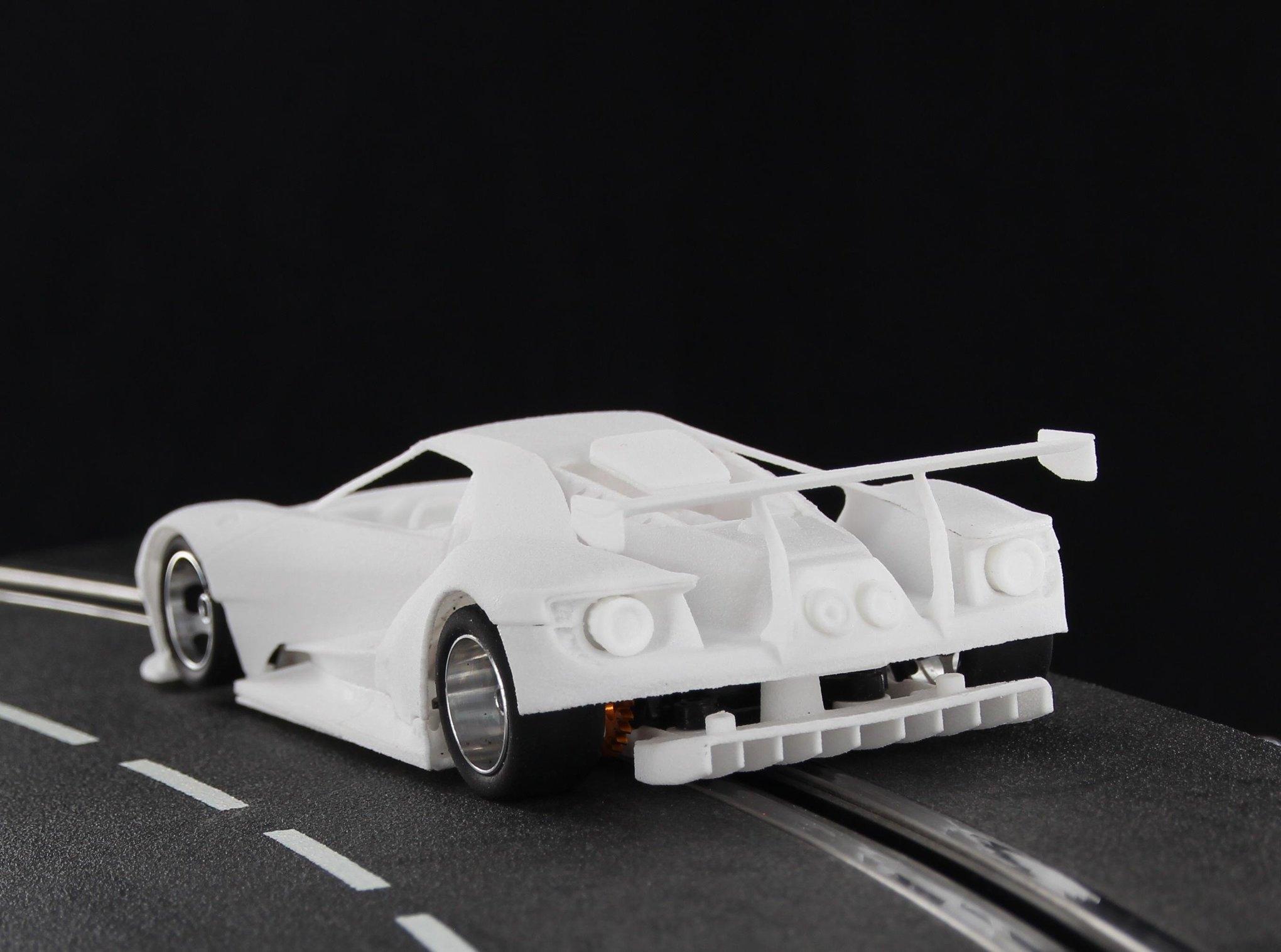Sideways: Les photos du prototype de la Ford GT