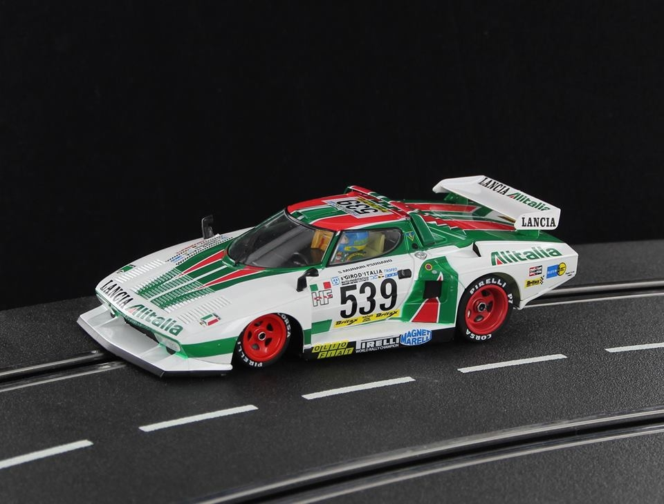SW59 Lancia Stratos HF Gr5 Alitalia - Giro Italia 1977 S Munari & P Sodano #539