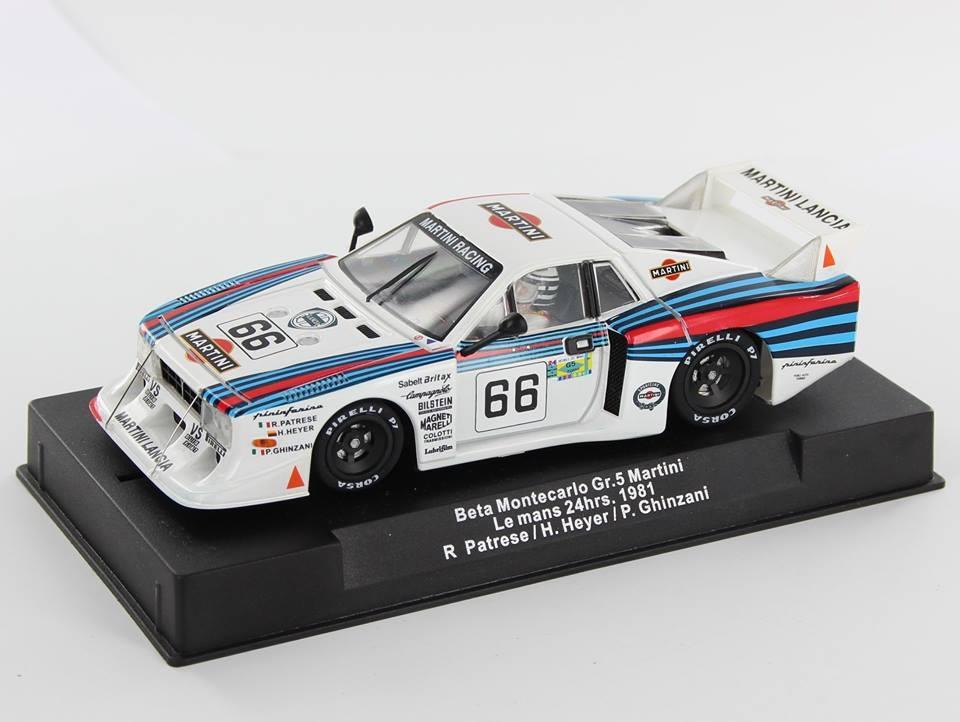 SW54 - Beta Montecarlo Gt5 Martini 24h du Mans 1981 #66 R Patrese / H. Heyer / P. Ghinzani