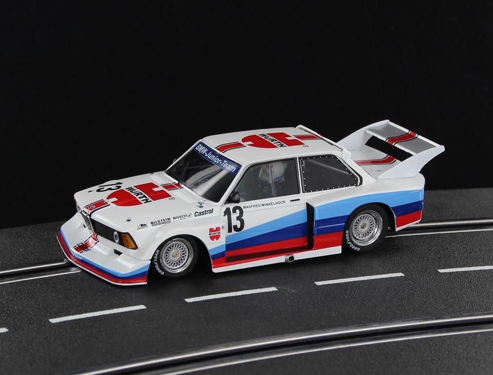 SW58A - B- C - BMW 320i Grp.5 BMW Team Junior #13 M.Winkelhock DRM 1977