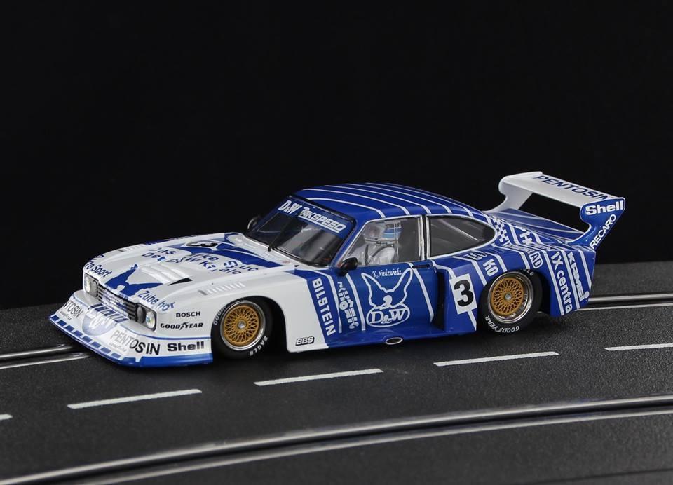 """SW56 - Ford Capri Turbo Gr. 5 """"D & W"""" #3 Klaus Niedzwiedz DRM 1977"""