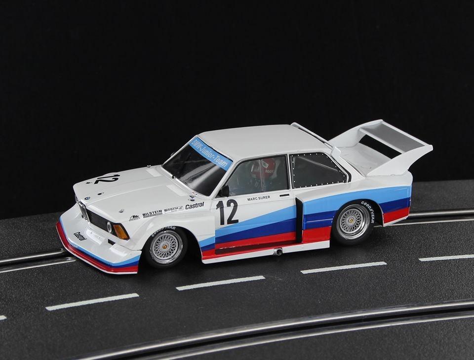 SW58A - B- C - BMW 320i Grp.5 BMW Team Junior #12