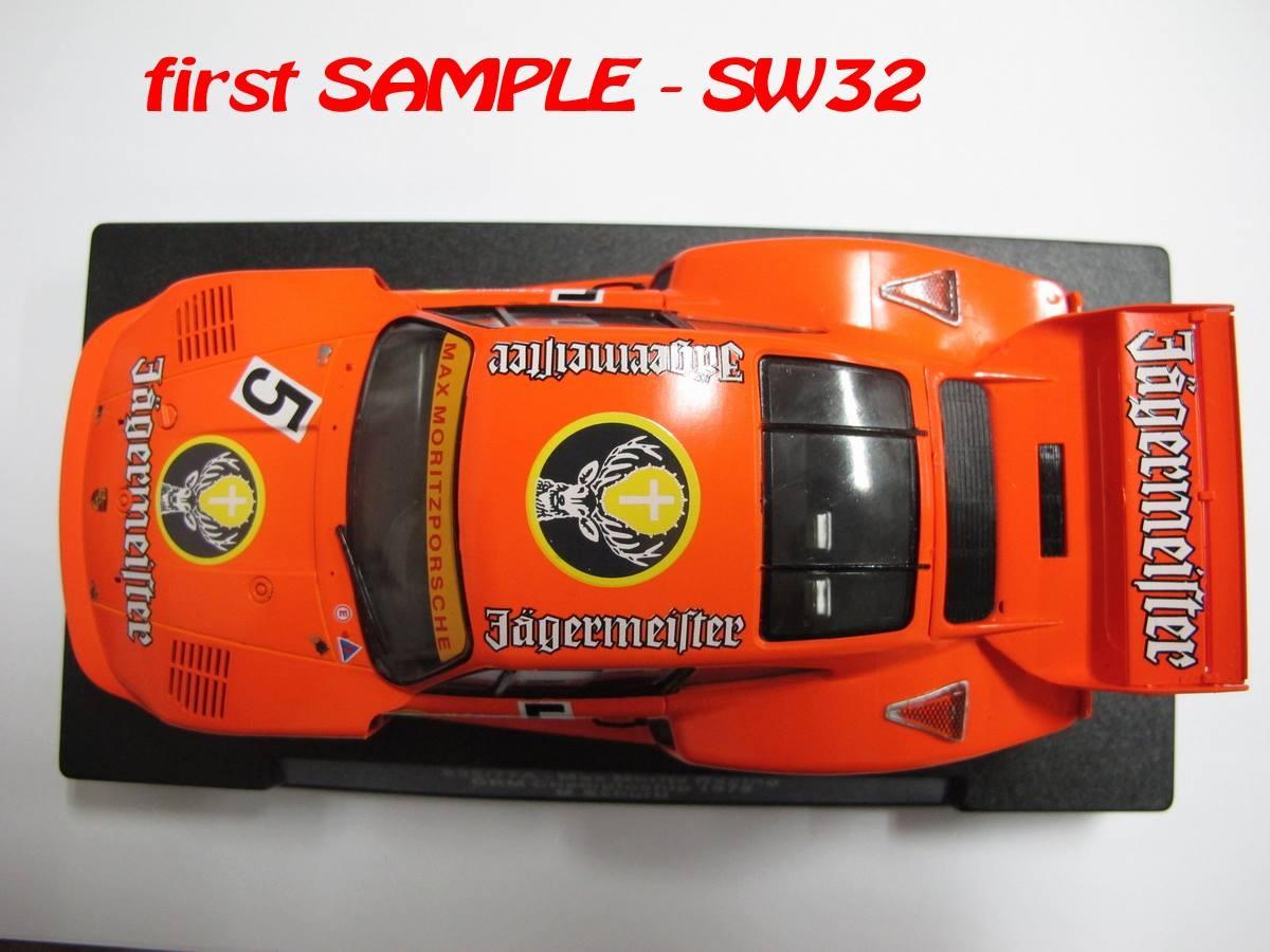 Sideways photos de la première Porsche 935/77A