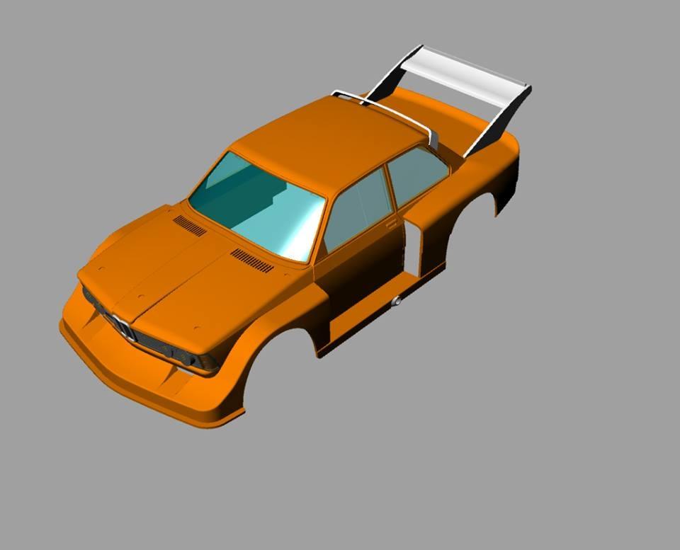 Sideways BMW 320Turbo