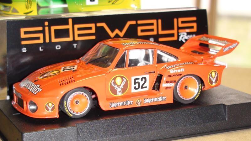 Sideways Porsche 935