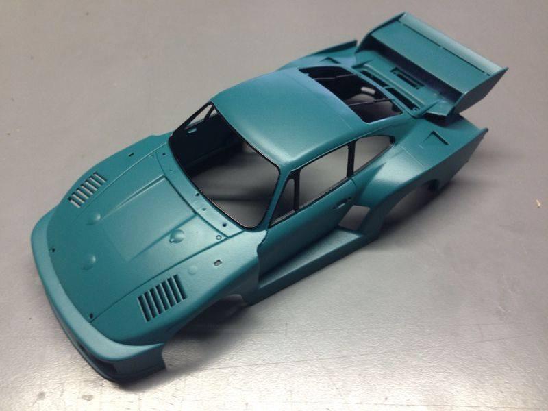 Sideways Porsche Kremer K2 SW34