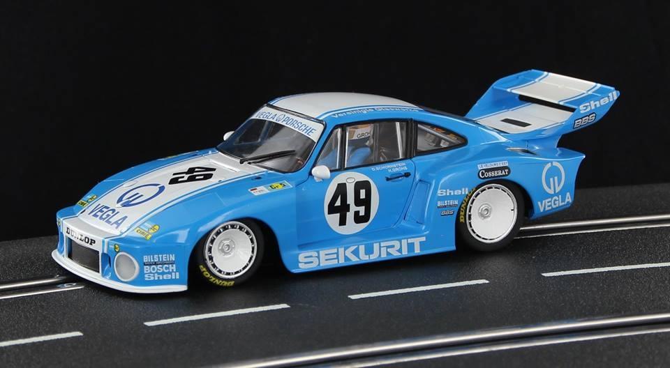 Sideways: Porsche 935/77 Vegla Racing Le Mans 24hrs 1980