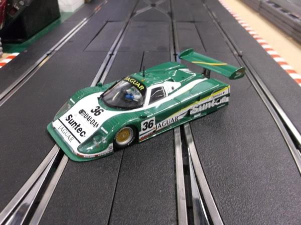 La Jaguar XJR12 N° 36 Le Mans 1991