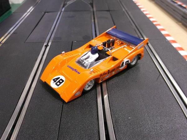 La McLaren M8D - # 48 1er Mosport 1970