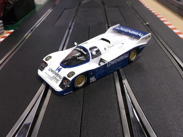 La Porsche 962 IMSA  N° 14 Sebring 1987