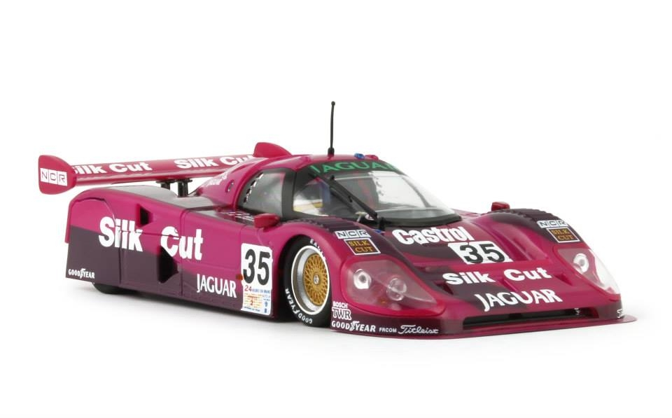 Slot it Jaguar XJR12 Silk Cut Mans 91 Sica13c