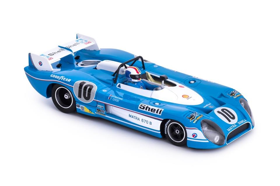 Slot it: La Matra-Simca MS 670 B – n° 10 Le Mans 1973
