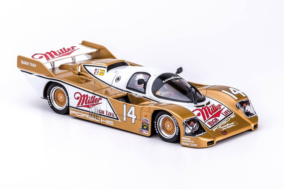 "Slot.it: La Porsche 962 IMSA Daytona 1988 ""Miller"" #14"