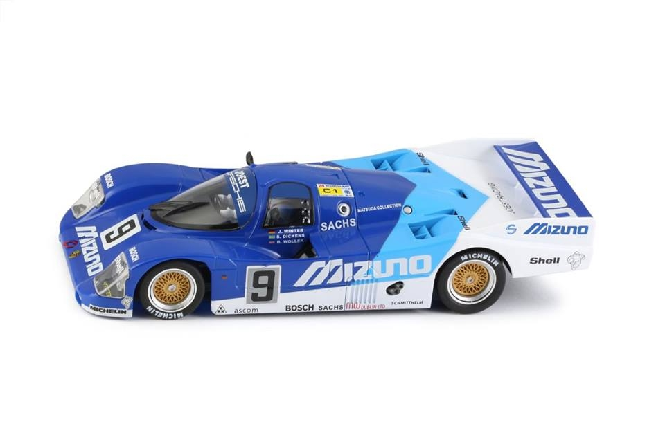Slot it: la Porsche 962 LH Mizuno No. 9 24H. Le Mans 1990 SI-CA03I