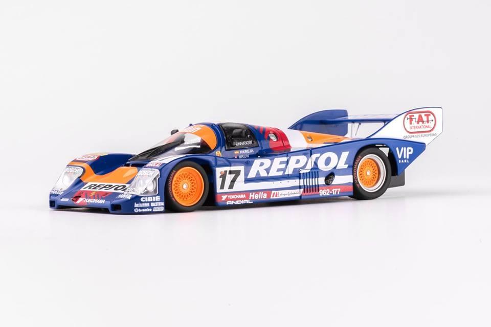 Slot.it: La Porsche 962C KH n.17 - Le Mans 1991 - CA17e