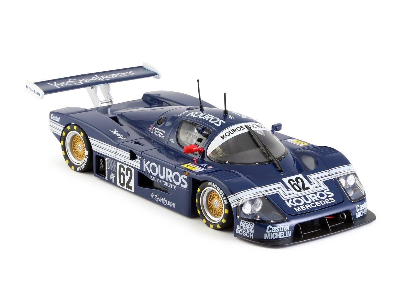Slot it: la Sauber-Mercedes C9 Kouros #62 24h Le Mans 1987