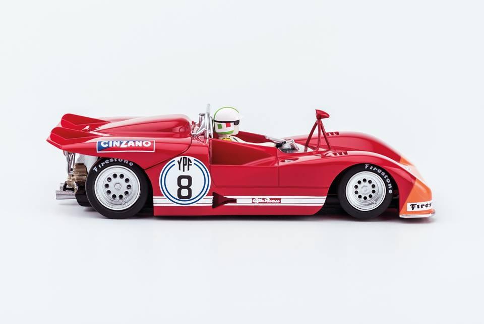 Slot.it: L'Alfa Roméo 33/3 1000 kms Buenos Aires 1972 (SI-CA11I)